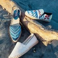 Variációk espadrilles cipőre