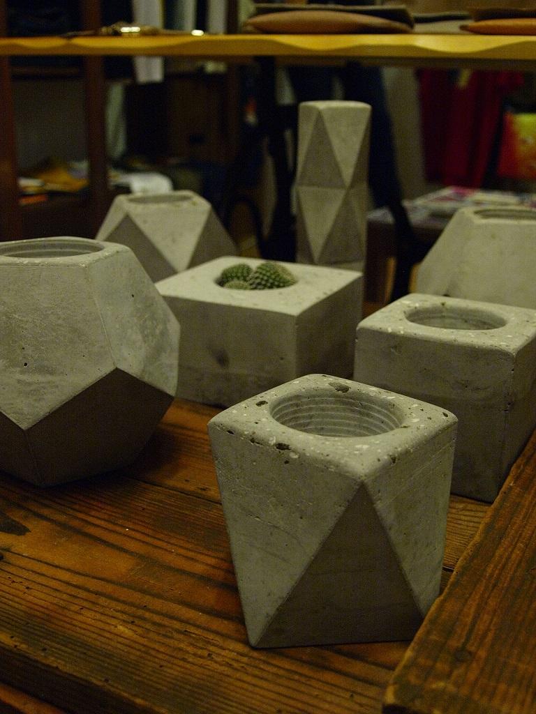 concrete pot: betonvázák, kaspók