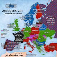 Ezek a leggyakoribb családnevek Európában