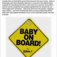 Fogadjunk, hogy nem tudod, mire jó a BABY-ON-BOARD matrica