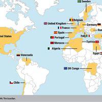 Párizsi terror: 19 nemzet polgárai az áldozatok között