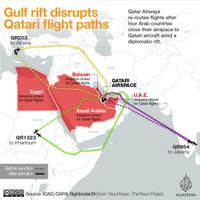Arabok egymás közt: a terror miatt szív az egyik légitársaság