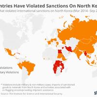 49 ország is megszegte az Észak-Korea elleni szankciókat