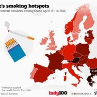 Rengeteg magyar dohányzik, de az osztrákok verik egész Európát