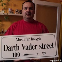 Darth Vader utca?