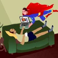 Én is kérek házi bejáratú SuperMan-t!