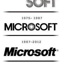 Microsoft logo: Ilyen volt - ilyen lett.
