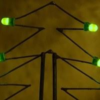 LED-es karácsonyfa