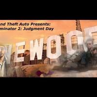 GTA5: Terminator 2 motoros üldözésének multiplayer remake-je!