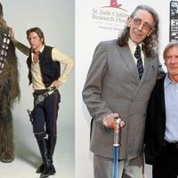 Régen és most: Chewie és Han Solo