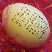 Kockafej húsvéti tojások