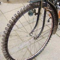 Oltári találmány: Kerékpár gumi helyett