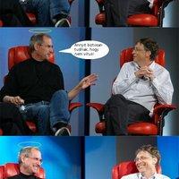 Steve és Bill Gates