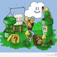 Építkeznek Mario-nál.