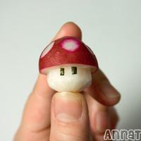 Mario gombája retekből!