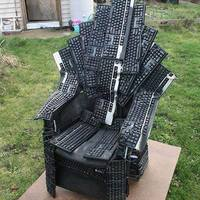 Kockafej trón