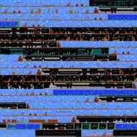 Napi kockafej háttérkép: Az összes mario pálya egy képen.