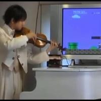 Super Mario hegedűvel!