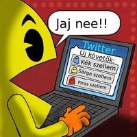 Pacman twitteren!