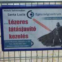 Darth Vader: Lézeres látásjavító kezelés