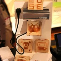 Kenyérpirító nyomtató