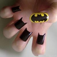 BatWoman körmök denevérlányoknak