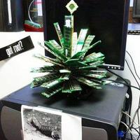 RAM karácsonyfa