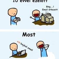 Levelezés régen és most!