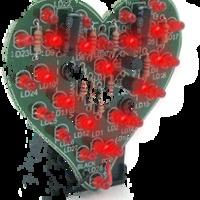 Valentin napi áramkörszív!