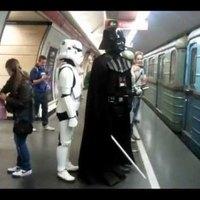 Darth Vader Budapesten