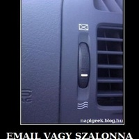 Email vagy szalonna?