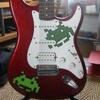 Sanyi gitárja
