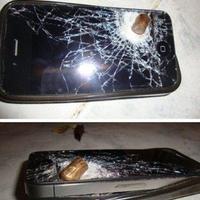 Akinek az iPhone mentette meg az életét