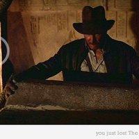 R2D2 és C3PO az Indiana Jones-ban.
