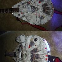 Ezer éves sólyom gitár