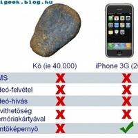 Kő VS iPhone