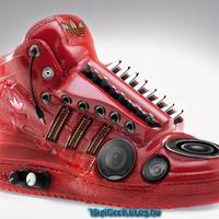 Hangszóró a cipőben?!?
