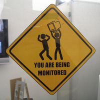You are being monitored !!!