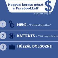 Keress pénzt a Facebookkal!!!