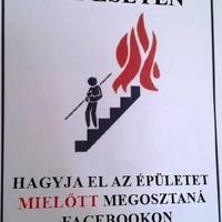 Tűz esetén