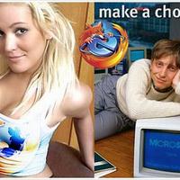 Firefox vagy Internet Explorer?