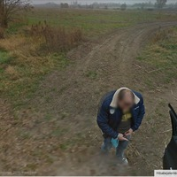 Pisil-e a Google StreetView sofőr?