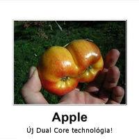 Apple DualCore technológia!