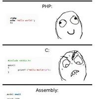 Hello Világ, különböző programozási nyelveken