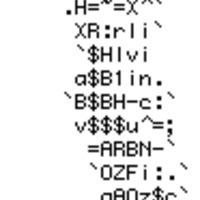 ASCII ember