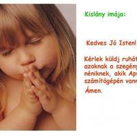 A kislány imája