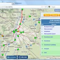 Magyarországi vonatok GPS nyomkövetése