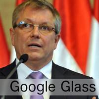 Matolcsy György + Google Glass a tökéletes párosítás!