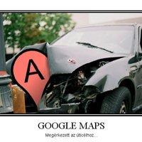Google Maps: Megérkezett az uticélhoz