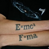 Fizikus tetoválás!